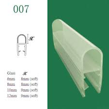 pvc shower door seal