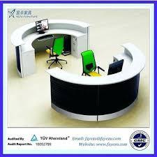 Reception Desk Furniture Ikea Half Desk Furniture China Half Reception Desk With