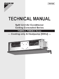 daikin split system air conditioner operation manual air