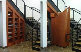 hidden room under stairs interior design