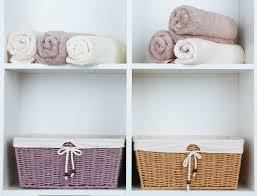 Wicker Bathroom Storage by The Most Clever 2017 And Organized Bathroom Storage Ideas