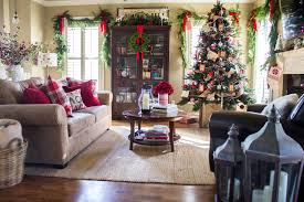 Pottery Barn Living Rooms by Holiday Home Tour Classic Christmas Decor