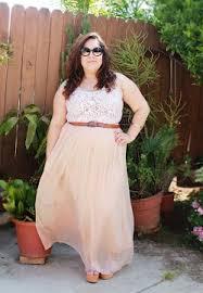pretty maxi dress in plus size fashion pluss