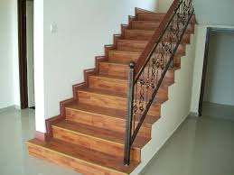 consider laminate for your staircase it looks great is much