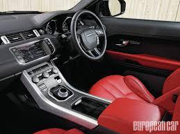 Evoque Interior Photos 2012 Range Rover Evoque European Car Magazine