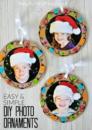 easy diy photo ornaments i crafty things