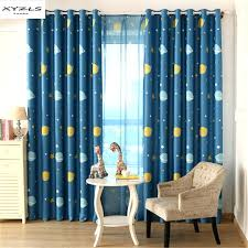 Royal Blue Blackout Curtains Blue Blackout Curtains Woodio
