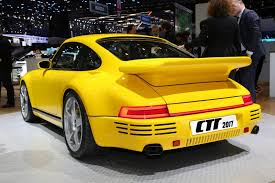porsche yellow bird this is not a 911 this is ruf u0027s own rear engined carbon fiber