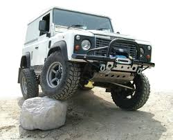 electric 4x4 defender bumper a bar winch google search defender bull bar
