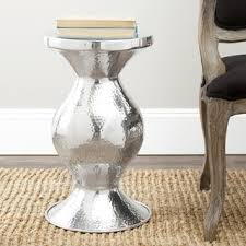 aluminum accent table end tables designs white redecorating sofa aluminum end table