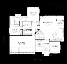 House Plans For A View Mascord House Plan 1320a The Kendrick