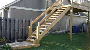 Patio Handrails by How To Build Deck Stair Railing Bearing Net Ideas