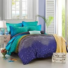 Glitter Bedding Sets Wholesale Hot Sale Moon Stars Space Design Bedding Sets Wedding