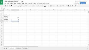 How To Do A Simple Spreadsheet 10 Easy Steps To Creating A Budget Spreadsheet