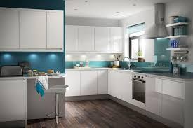 inspiring modern apartment kitchen ideas featuring white gloss f