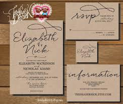 wedding invitation set wedding invitation rsvp amulette jewelry
