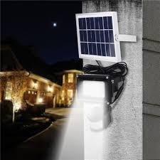 solar powered sensor security light 54 led solar powered motion sensor flood light remote control