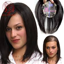 hair toppers for women 13 14cm human toupee women top thin skin hair replacement systems