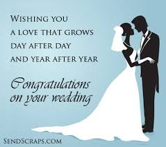 wedding day congratulations and groom wedding image 8138 sendscraps