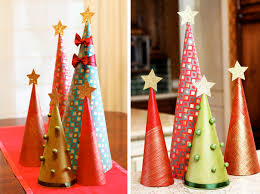 make wrapping paper christmas tree decorations modernmom dma