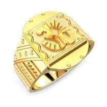 gold rings for men buy religious gold rings for men religious gold jewellery