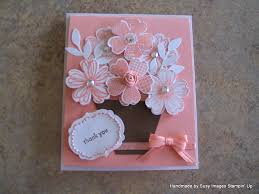 How To Make Easy Paper Flowers For Cards - beautiful and easy card to make pls contact me at http www