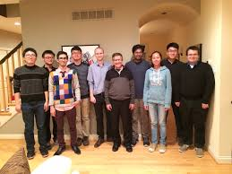 thanksgiving dinner st louis professor arye nehorai students and visitors
