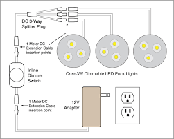dimmable led puck lights 88light dimmable led puck light wiring diagrams