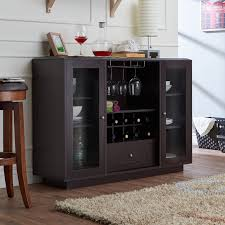 Built In Drinks Cabinet Wine Bottle Storage Equipped Sideboards U0026 Buffets You U0027ll Love