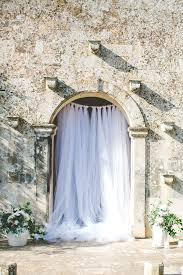 wedding backdrop tulle italian destination wedding for a wedding planner ruffled