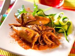 comment cuisiner le calamar calamar recettes de calamar cuisine actuelle