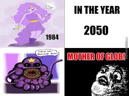 Lumpy Space Princess Meme - lumpy space princess comic from 1984 2050 by paigemt2000 meme center