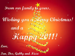 2014 top merry wishes and messages from our house