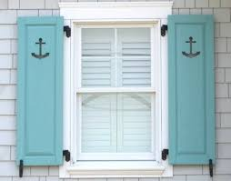decorative coastal window shutters for curb appeal completely