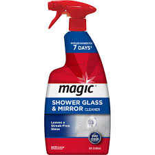 how to remove hard water stains from glass shower doors magic 28 oz shower glass and mirror trigger cleaner 3073 the