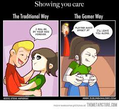 Girls Playing Video Games Meme - showing you care video games gaming and girl gamer