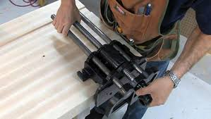 Wood Bench Vise Reviews by Installing A Vise Finewoodworking