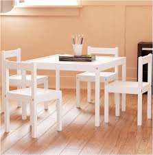 White Kids Table And Chair Set - kids table and chair sets unique fasthomegoods kids table and