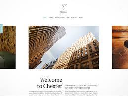 chester download minimalist joomla template
