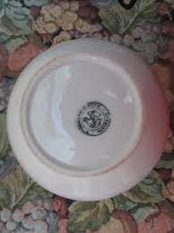r fowler pottery bowl pudding basin white 21cm australia 1930s
