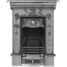 carron bella small cast iron combination fireplace