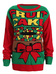 tops and green 3xl plus size fruit cake pattern