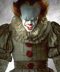 it clown halloween mask bill skarsgard pennywise clown it not scary real life