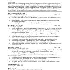 cover letter examples of accounts payable resumes marvellous edit