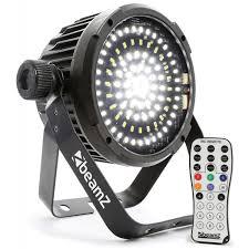 beamz bs98 strobo 98 led strobe light with ir remote dj city