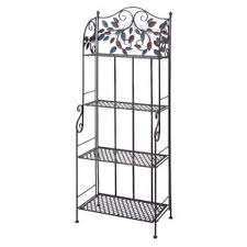 Storage Bakers Rack Wrought Iron Baker U0027s Racks You U0027ll Love Wayfair