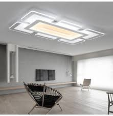 Acrylic Ceiling Light Acrylic Led Ceiling L Square Lshade Interior Light Fixtures