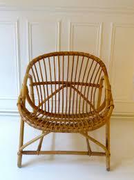 banquette rotin vintage fauteuil rotin vintage ikea accessoire convivialit joie int rieur
