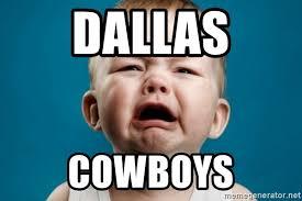 Crying Baby Meme - dallas cowboys unhappy crying baby meme generator