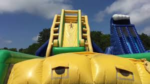 cape cod inflatable waterpark youtube